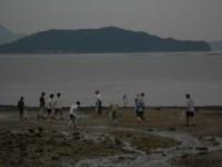 久保谷海岸清掃活動①