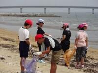 長井の浜清掃活動
