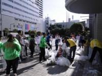 福山駅周辺の活動の様子